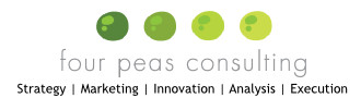 Four Peas logo